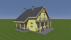 Domy szkieletowe - wykonawca, domy z drewna